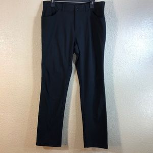 Old Navy Pants Activewear Black Size 33/30